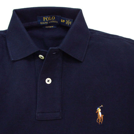 Ralph Lauren Polos Pullovers Plain Cotton Short Sleeves Polos 10