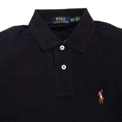 Ralph Lauren Polos Pullovers Plain Cotton Short Sleeves Polos 5