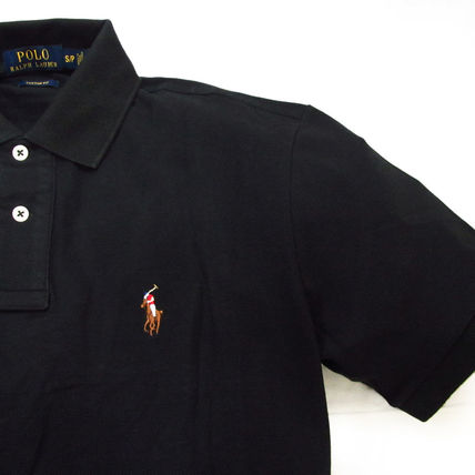 Ralph Lauren Polos Pullovers Plain Cotton Short Sleeves Polos 6