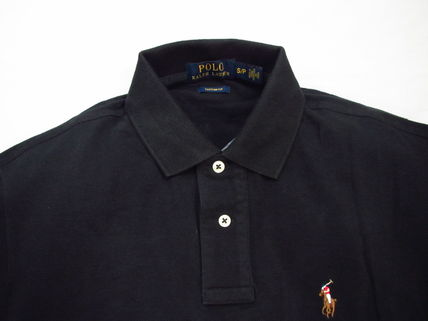 Ralph Lauren Polos Pullovers Plain Cotton Short Sleeves Polos 8