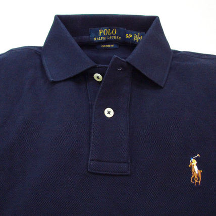 Ralph Lauren Polos Pullovers Plain Cotton Short Sleeves Polos 18
