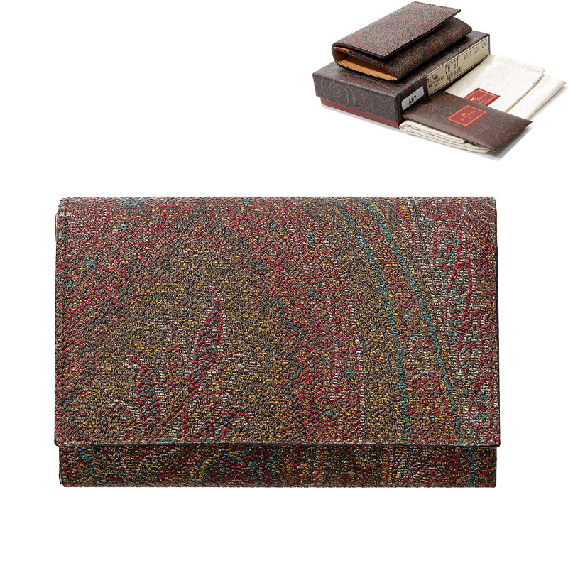 shop etro wallets & card holders