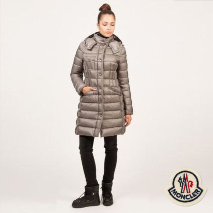 ... MONCLER Down Jackets Casual Style Plain Long Down Jackets ...