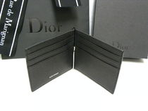 DIOR HOMME Leather Folding Wallets
