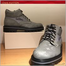 Louis Vuitton Monogram Mountain Boots Outdoor Boots
