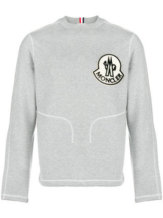 MONCLER Sweatshirts Crew Neck Sweat Long Sleeves Sweatshirts 2