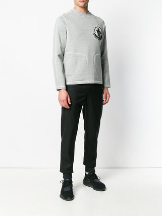 MONCLER Sweatshirts Crew Neck Sweat Long Sleeves Sweatshirts 3