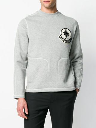 MONCLER Sweatshirts Crew Neck Sweat Long Sleeves Sweatshirts 4