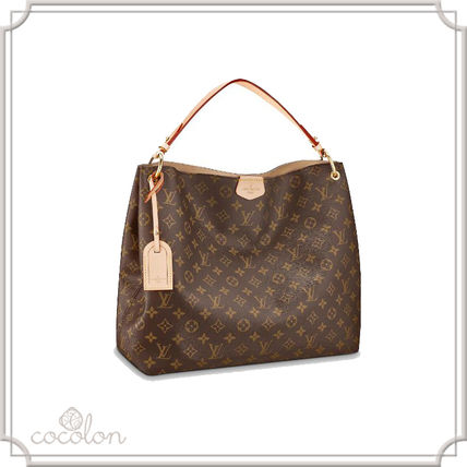 fdeca15cb20 ... Louis Vuitton Totes 18-19 GINGHAM TOTE BAG SHOULDER BAG A4 -SIZE- ...