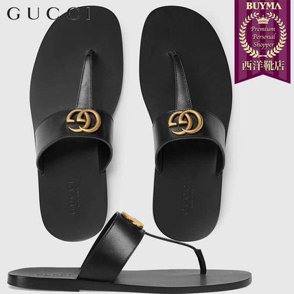 ed89bad13 GUCCI 2018-19AW Focused Brands Sandals (498698 A4HD0 1000) by ...