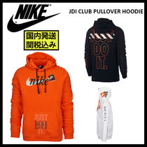 Nike Pullovers Stripes Unisex Street Style Long Sleeves Cotton