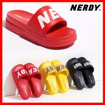 NERDY Casual Style Unisex Street Style Sandals
