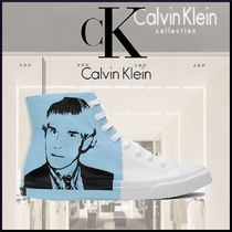 Calvin Klein Unisex Street Style Plain Deck Shoes Loafers & Slip-ons