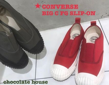 CONVERSE 2018-19AW Unisex Plain Loafers   Slip-ons by chocolatehouse ... ba19fed78