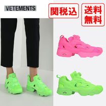 VETEMENTS Casual Style Street Style Collaboration Low-Top Sneakers