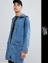 Sixth June Denim Street Style Long Parkas