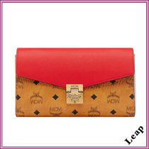 MCM Monogram Casual Style Street Style 2WAY Bi-color Chain