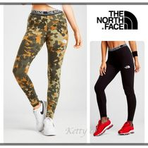 THE NORTH FACE Camouflage Street Style Plain Cotton Leggings Pants