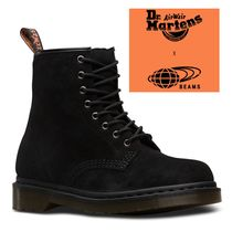 Dr Martens Unisex Collaboration Plain Leather Engineer Boots