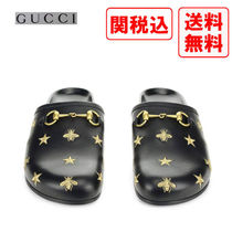 GUCCI Street Style Leather Sandals