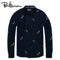 Ron Herman Long Sleeves Cotton Handmade Shirts
