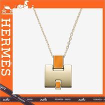 HERMES Chain Elegant Style Necklaces & Pendants