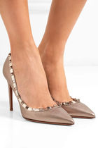 VALENTINO Leather High Heel Pumps & Mules
