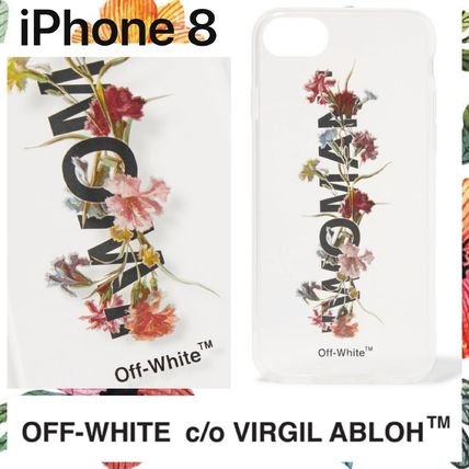 reputable site eea3d 5f561 Off-White 2018 SS Flower Patterns Street Style Smart Phone Cases by ...