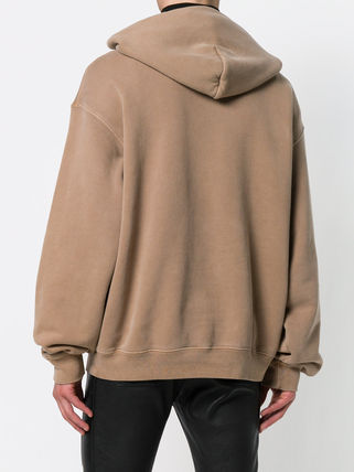 Yeezy Hoodies Pullovers Street Style Long Sleeves Plain Cotton Oversized 5