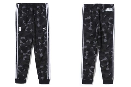 A BATHING APE Top-bottom sets Unisex Street Style Collaboration Top-bottom sets 3