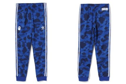A BATHING APE Top-bottom sets Unisex Street Style Collaboration Top-bottom sets 5