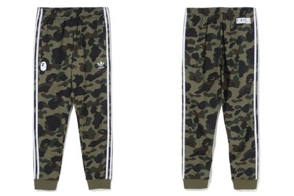 A BATHING APE Top-bottom sets Unisex Street Style Collaboration Top-bottom sets 7