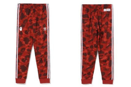 A BATHING APE Top-bottom sets Unisex Street Style Collaboration Top-bottom sets 9