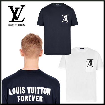 ff20ad7abfc Louis Vuitton More T-Shirts Cotton Short Sleeves T-Shirts .
