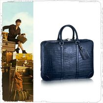 Louis Vuitton Crocodile A4 Plain Business & Briefcases