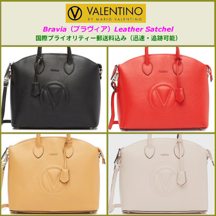 4fda72cb2ab Mario Valentino VALENTINO BRAVIA Leather Satchel by FreedomNY - BUYMA