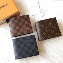 Louis Vuitton MARCO Other Check Patterns Monogram Canvas Street Style