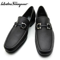 Salvatore Ferragamo Collaboration Plain Leather Oxfords