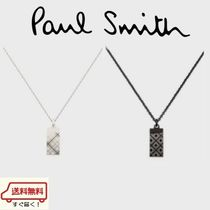 Paul Smith Argile Unisex Silver Necklaces & Chokers