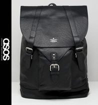 ASOS Street Style Leather Backpacks