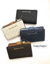 Michael Kors Monogram Folding Wallets