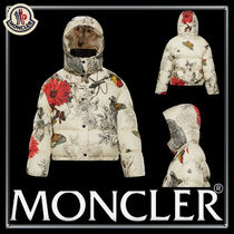 MONCLER Flower Patterns Down Jackets