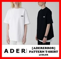 ADERERROR Unisex Street Style Cotton Short Sleeves T-Shirts
