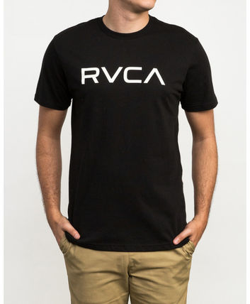 RVCA More T-Shirts Street Style Plain Cotton Short Sleeves T-Shirts 3