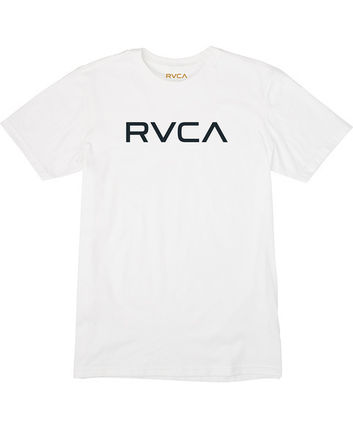 RVCA More T-Shirts Street Style Plain Cotton Short Sleeves T-Shirts 4
