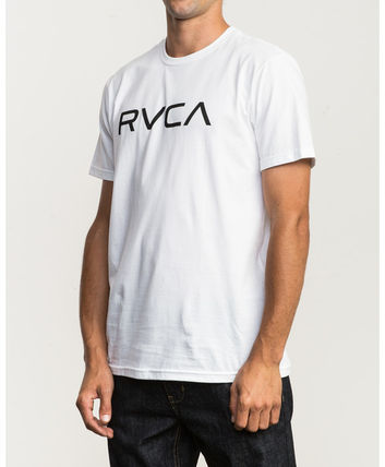 RVCA More T-Shirts Street Style Plain Cotton Short Sleeves T-Shirts 6