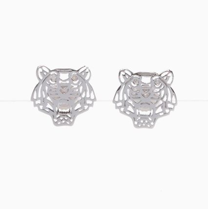 Animal Silver Elegant Style Earrings & Piercings