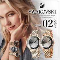 SWAROVSKI Round Elegant Style Analog Watches