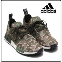 adidas NMD Camouflage Casual Style Unisex Low-Top Sneakers