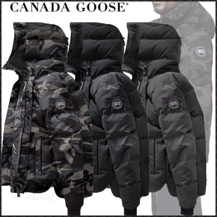 ... CANADA GOOSE Down Jackets Blended Fabrics Street Style Plain Down  Jackets ... 5a5dff86cd43